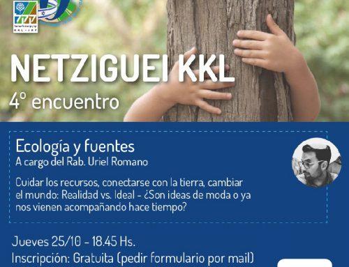 """Charla """"Ecología y Fuentes"""" a cargo del Rabino Uriel Romano"""