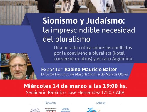 Conferencia: Sionismo y Judaismo