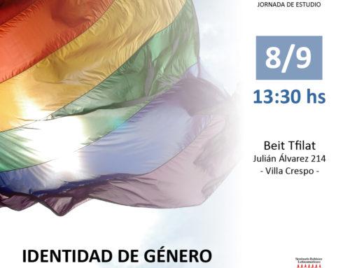 Jornada de estudio «Identidad de género y diversidad sexual»