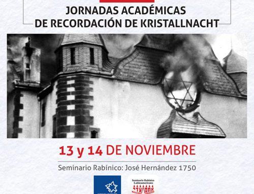 Jornadas Académicas de Recordación de KRISTALLNACHT