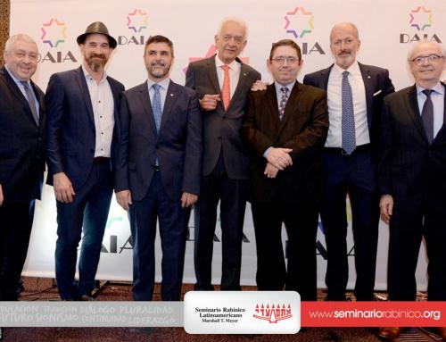 Asunción de la nueva Comisión Directiva de la DAIA.