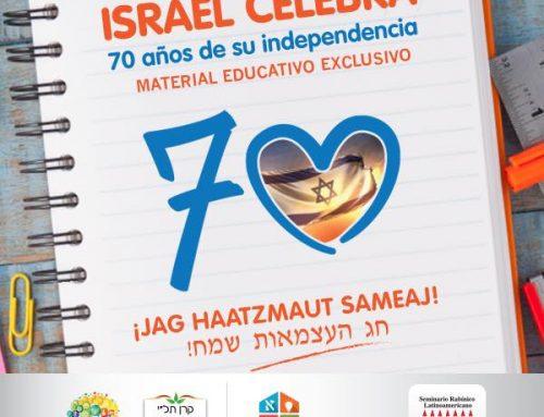 Celebrá los 70 años de Israel con TALI